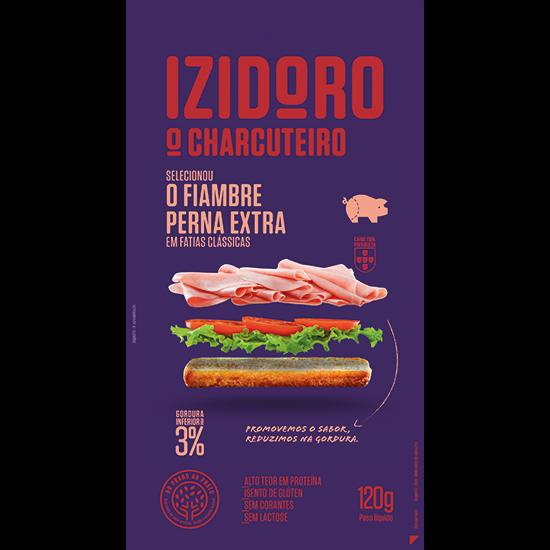 izidoro-fiambre-perna-extra-fatias-clássicas-120g