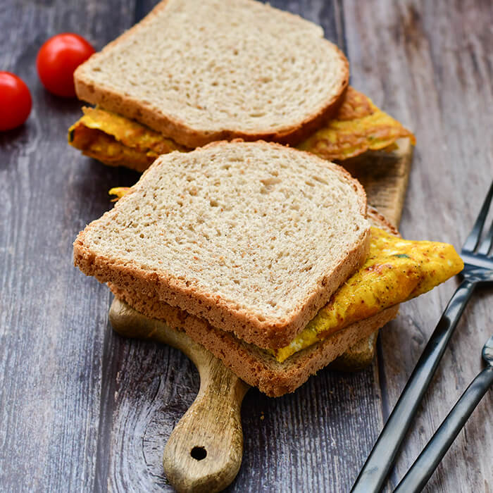 Sanduíche de Omolete