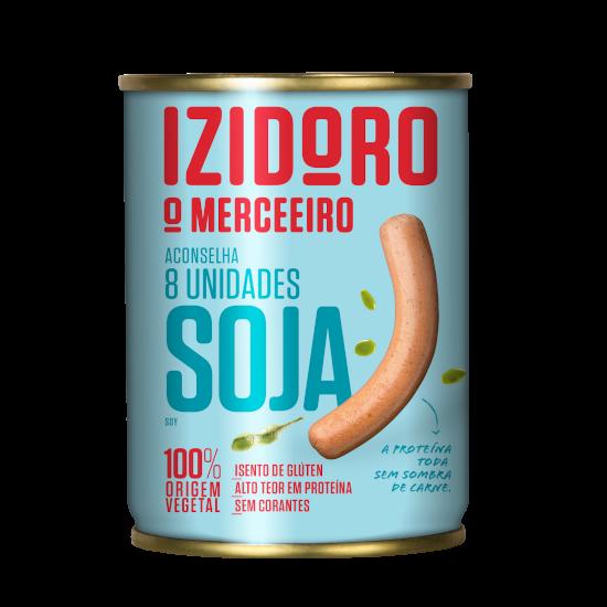 8 unidades de Soja Izidoro Lata